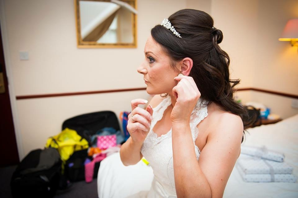 Melaine's Wedding Finished Makeup Look