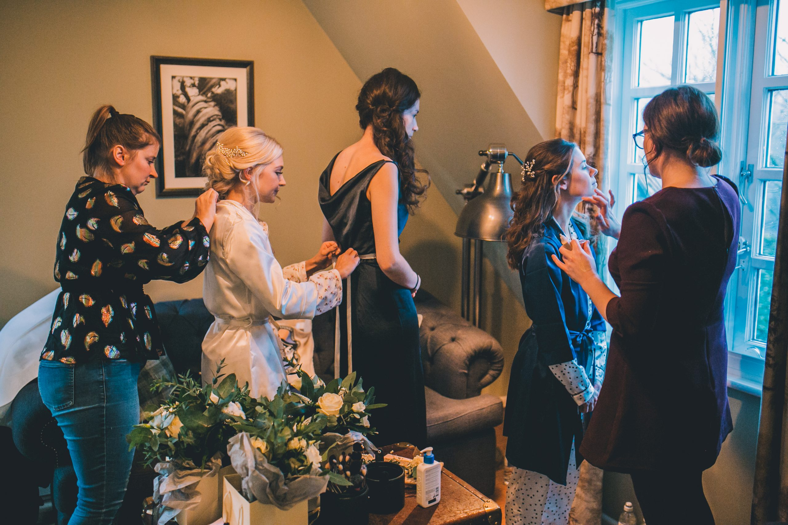 Wedding hair and makeup at Ramster