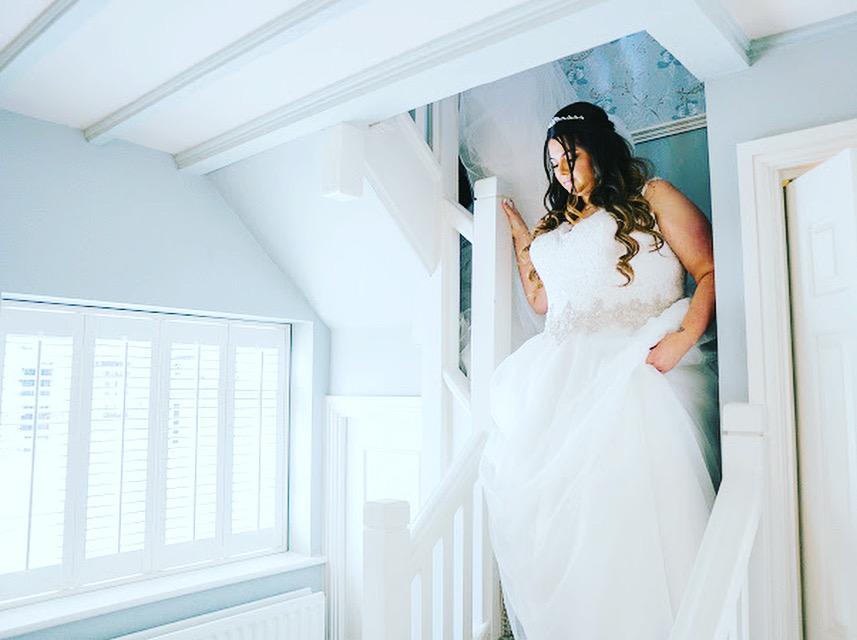wedding hair and makeup foxhills